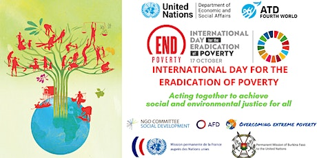Global Commemoration for the Int'l Day for the Eradication of Poverty 2020 ingressos