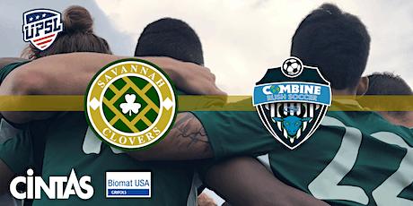 UPSL Soccer: Savannah Clovers v Combine Rush tickets