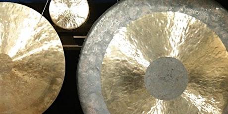 STUDIO | Gong Sound Bath: Deep Relaxation tickets