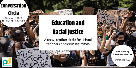 Education and Racial Justice: A Conversation Circle for Educators tickets