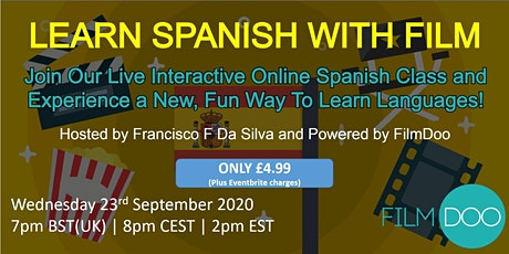 Learn Spanish through Film - Interactive Spanish Class Party tickets