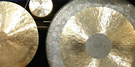 STUDIO | Gong Sound Bath: Deep Relaxation - CANCELLED tickets
