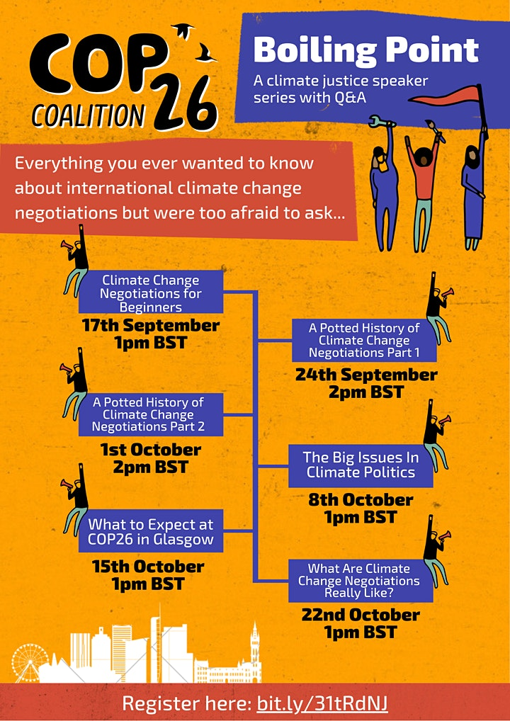 Boiling Point: A COP26 Coalition Speaker Series image