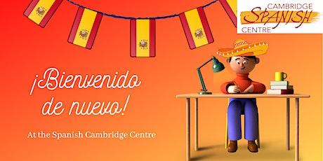 Bienvenido de nuevo at the Cambridge Spanish Centre tickets
