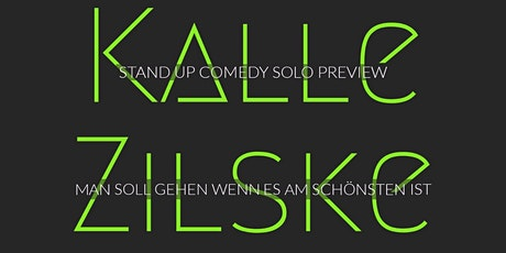 Stand-up Comedy: Kalle Zilske - SoloPreview tickets