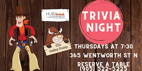 Thursday Trivia Night at The Galley Pump tickets