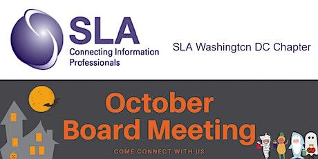 DCSLA October 2020 Board Meeting tickets