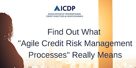 """Find Out What """"Agile Credit Risk Management Processes"""" Really Means tickets"""