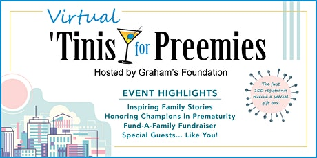 'Tinis for Preemies - A Virtual Event tickets