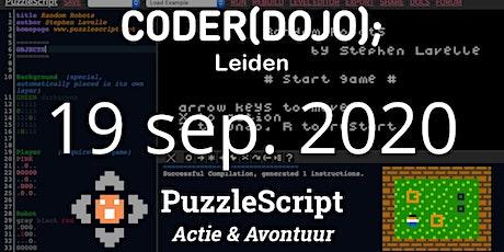 CoderDojo Leiden #71 | PuzzleScript - Actie & Avontuur tickets