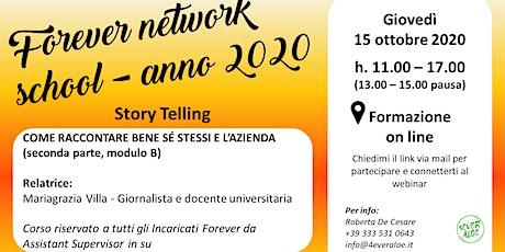 Forever network school - anno 2020 biglietti