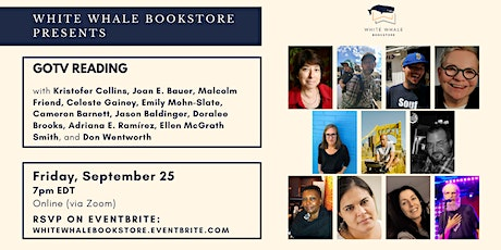 GOTV Reading, hosted by Kristofer Collins and Joan Bauer tickets