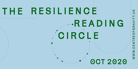 The Resilience Reading Circle: 3 tickets