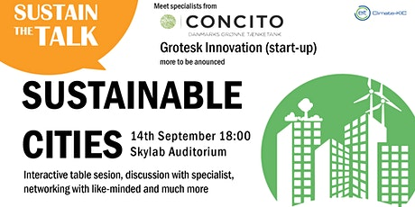 Sustain the Talk: Sustainable Cities tickets
