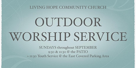 Outdoor Worship Service on September 27 tickets