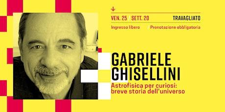 Gabriele Ghisellini biglietti