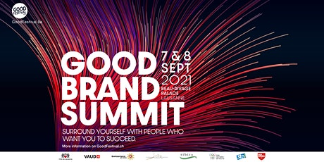 Good Brand Summit | 7-8 September 2021, part of GoodFestival 8th Edition billets