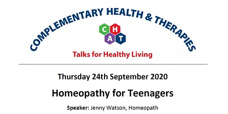 Homeopathy for Teenagers tickets