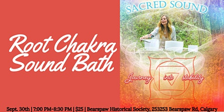 Scared Sound Bath: Journey into stability tickets