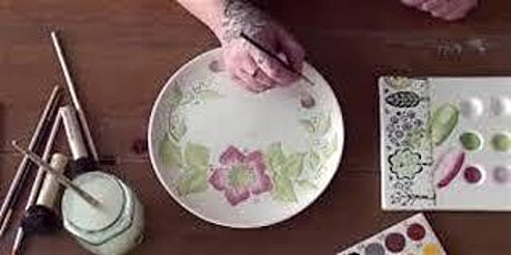 Ladies Pottery Painting Night 7-10 pm tickets