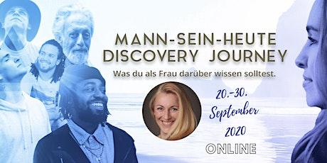Mann-Sein-Heute Discovery Journey tickets