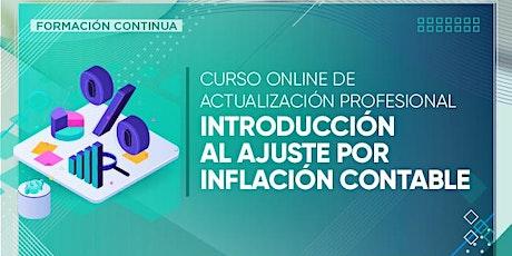 Curso online: Introducción al ajuste por inflación contable entradas