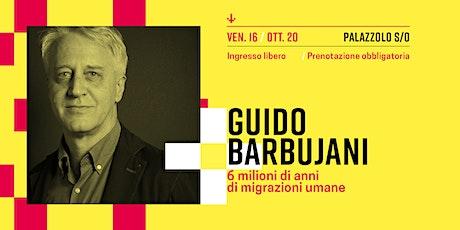 Guido Barbujani biglietti