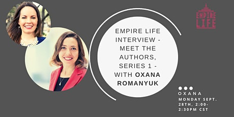 Empire Life Book, Meet The Authors Interview, With Oxana tickets