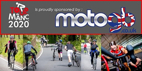 Virtual & DiY Tour de Manc 2020 sponsored by Motogb billets