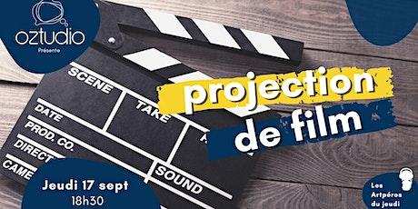 Soirée projection de film billets