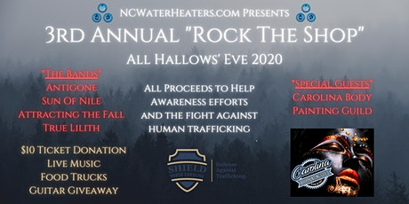 "3rd Annual ""Rock The Shop"" tickets"