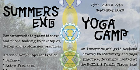 Summers End Yoga Camp tickets