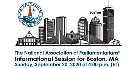 Parliamentarians of Boston, MA - Informational Session tickets