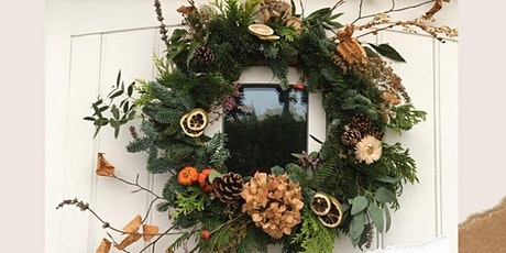 Finding Comfort & Joy - Seasonal Wreath Workshop tickets