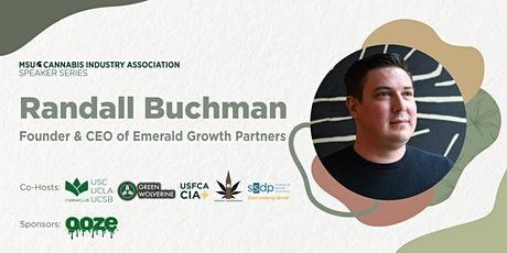 MSU Cannabis Speaker Series, with Randall Buchman tickets