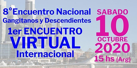 8vo Encuentro Nacional de Gangitanos y Descendientes tickets