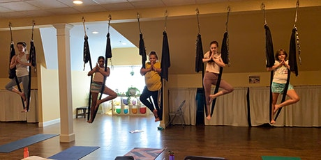 Yoga with Silks for Adults / Teens Beginner Friendly tickets