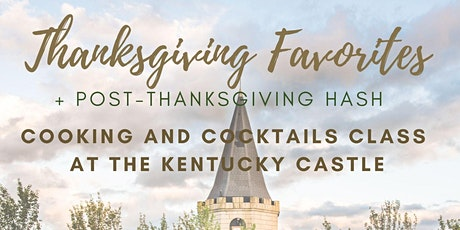 Cooking & Cocktails: Thanksgiving Favorites + Post-Thanksgiving Hash tickets