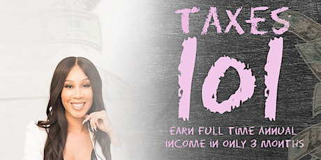 Taxes 101 with Chiara G tickets
