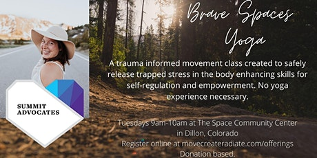 Brave Spaces Yoga Class tickets