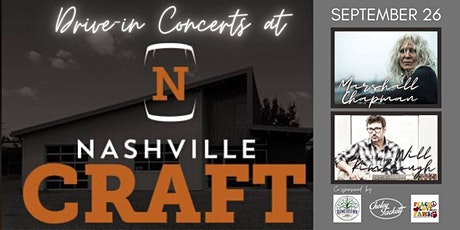 Nashville Craft Drive In Concert- Marshall Chapman & Will Kimbrough tickets