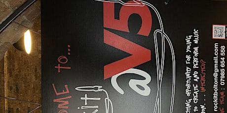 Rockit @ V5 - Saturday Social - Mentors and friends tickets