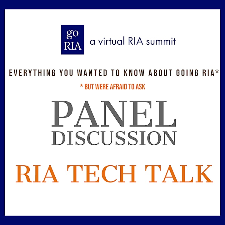 Go RIA - Everything you wanted to know about going RIA image