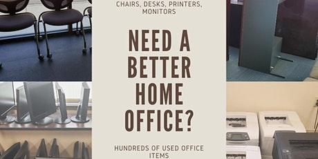 Work From Home Office Furniture Liquidation Sale 9/19 only! tickets