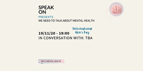 In Conversation With: TBA