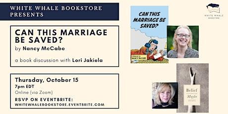 Reading & Conversation: Nancy McCabe w/ Lori Jakiela tickets