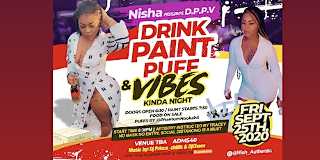 Drink-paint-puff&vibes tickets