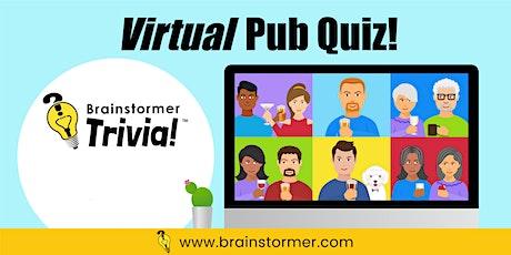 Brainstormer Virtual Pub Quiz, SEPTEMBER 19 2020 tickets