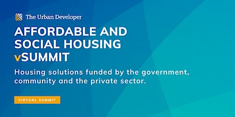 The Urban Developer Affordable and Social Housing vSummit tickets