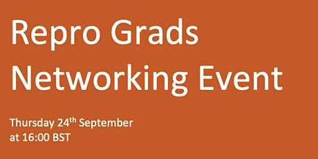 Repro Grads Networking Event tickets